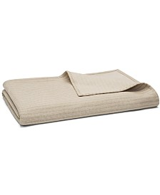 Hotel Collection Interlock Cotton King Coverlet, Created for Macy's