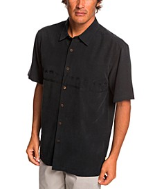 Quiksilver Men's Tahiti Palms 4 Short Sleeve Shirt