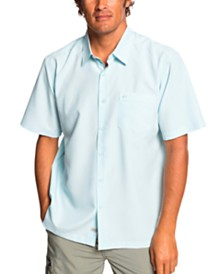 Quiksilver Waterman Men's Centinela 4 Short Sleeve Shirt