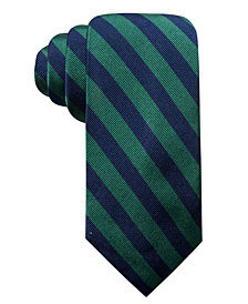 Club Room Men's Winthrop Classic Stripe Silk Tie, Created for Macy's