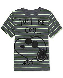 Little Boys Snoopy Stripe T-Shirt