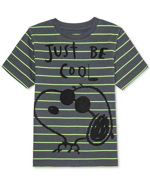 Peanuts Toddler Boys Snoopy Stripe T-Shirt
