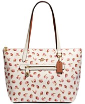 COACH Fruit Print Taylor Tote 2014fed85684f