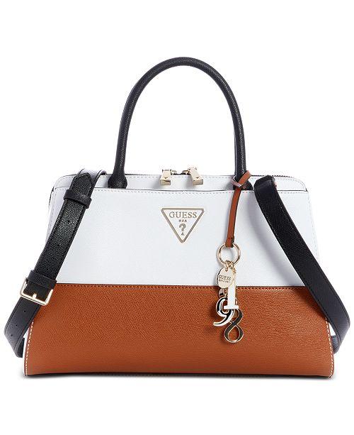 GUESS Maddy Girlfriend Satchel & Reviews Handbags