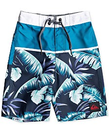 "Quiksilver Little Boys Everyday Noosa Tropical-Print 14"" Board Shorts"