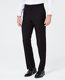 Men's Slim-Fit Stretch Black Tuxedo Suit Pants, Created for Macy's