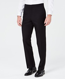 Ryan Seacrest Distinction™ Men's Slim-Fit Stretch Black Tuxedo Suit Pants, Created for Macy's