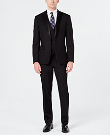 Ryan Seacrest Distinction™ Men's Slim-Fit Stretch Black Tuxedo Suit Separates, Created for Macy's