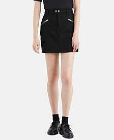 Levi's® Zip Sport Denim Skirt