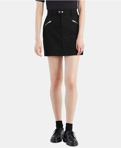 Levi's Zip Sport Denim Skirt
