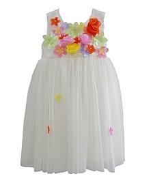 Multi Flowers Dress