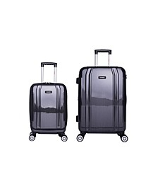 SouthWorld 2-Pc. Lightweight Hardside Spinner Luggage Set