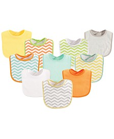 Luvable Friends Feeder Bibs, 10-Pack, One Size