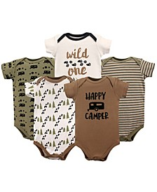 Bodysuits, 5-Pack, 0-24 Months
