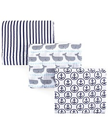 Muslin Swaddle Blankets, 3-Pack, One Size