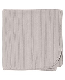 Touched By Nature Organic Cotton Receiving/Swaddle Blanket, One Size