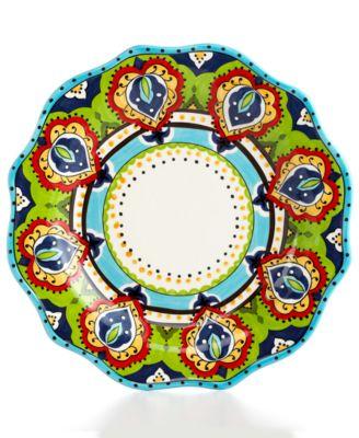 Espana Bocca Scalloped Dinner Plate  sc 1 st  Macy\u0027s & Espana Bocca Scalloped Dinner Plate - Dinnerware - Dining ...