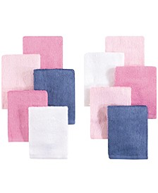 Luxuriously Soft Washcloths, 10-Pack