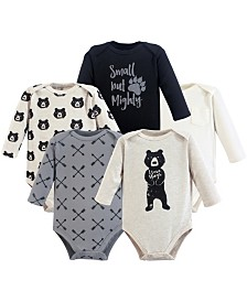 Yoga Sprout Bodysuits, 5-Pack, 0-24 Months