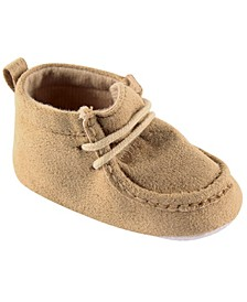 Luvable Friends Wallabee Inspired Boots, Tan, 12-18 Months