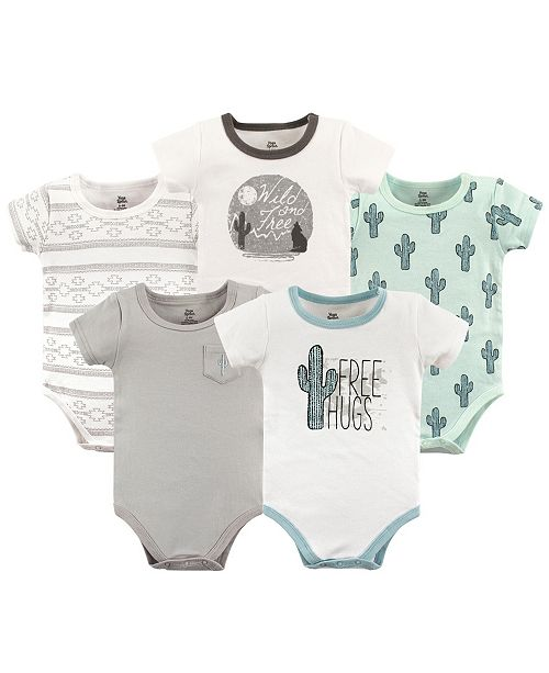 99b3be4ba90668 Baby Vision Yoga Sprout Bodysuits, 5-Pack & Reviews - All Baby ...