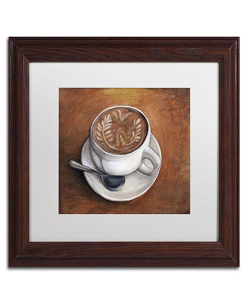 "Trademark Global Jennifer Nilsson Warm & Inviting Matted Framed Art - 11"" x 14"" x 0.5"""