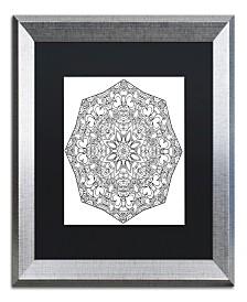 "Kathy G. Ahrens Sublime Mandala Matted Framed Art - 18"" x 18"" x 2"""