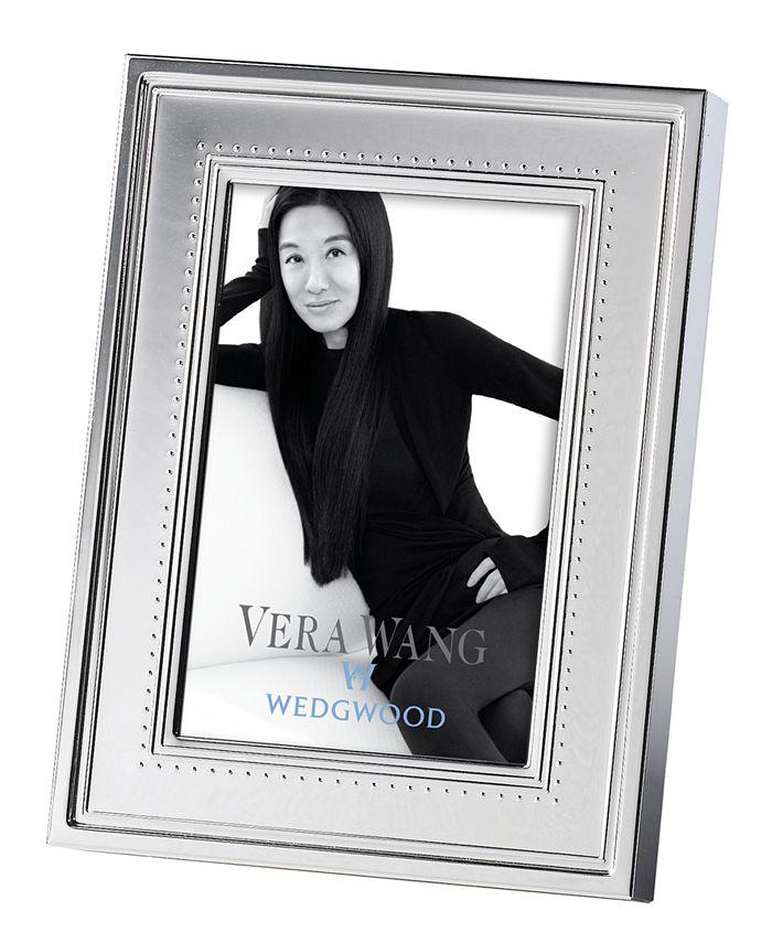 "Vera Wang Wedgwood - Vera Wang ""Grosgrain"" Frame, 4"" x 6"""