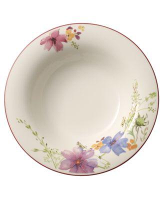 Dinnerware, Mariefleur Rim Soup Bowl