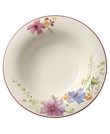 Villeroy & Boch Dinnerware, Mariefleur Rim Soup Bowl