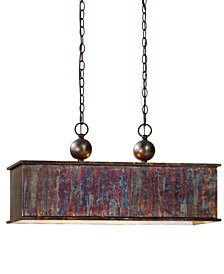 Uttermost Albiano Rectangle 2-Light Pendant