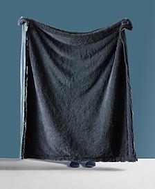 Shaggy Chic Fuzzy Faux Fur Throw Blanket