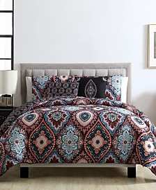 Coria 4 Piece Twin Quilt Set