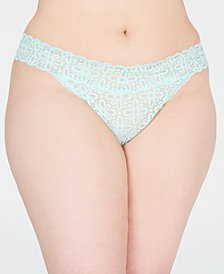 Jenni All Over Lace Plus Thong