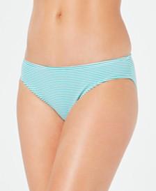 Lauren Ralph Lauren Seersucker Hipster Bikini Bottoms