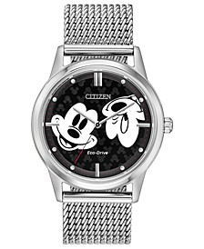 Eco-Drive Unisex Mickey Mouse Bracelet Watch 40mm