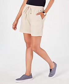 Linen Cargo Shorts, Created for Macy's