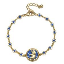 Capwell & Co. Beaded Elephant Bracelet