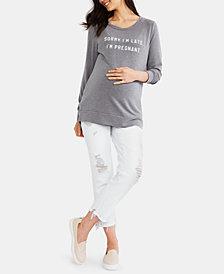 Motherhood Maternity Distressed Skinny Jeans