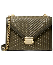 160e2bddb5c4 MICHAEL Michael Kors Whitney Quilted Studded Shoulder Bag