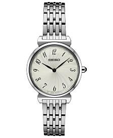 Seiko Women's Essential Stainless Steel Bracelet Watch 29.6mm