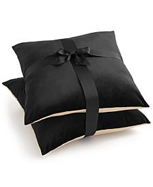 "CLOSEOUT!  2-Pk. Charleston Black 20"" x 20"" Decorative Pillows"