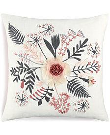 "CLOSEOUT!  Lacourte Kuro Cotton 20"" x 20"" Decorative Pillow"