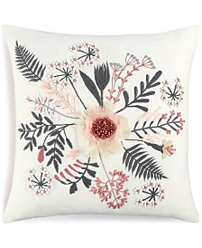 "CLOSEOUT!  Lacourte Kuro Cotton 20"" x 20"" Decorative Pillow"