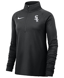 Nike Women's Chicago White Sox Half-Zip Element Pullover