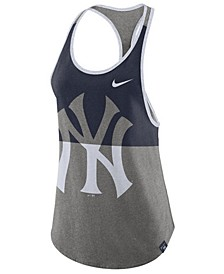 Women's New York Yankees Tri Racer Tank Top