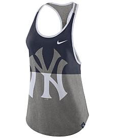 Nike Women's New York Yankees Tri Racer Tank Top
