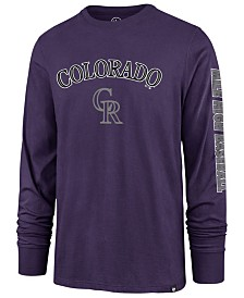 '47 Brand Men's Colorado Rockies Rival Local Long Sleeve T-Shirt