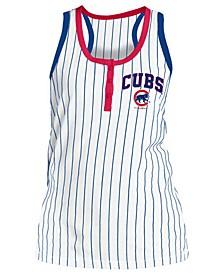 Women's Chicago Cubs Pinstripe Tank Top