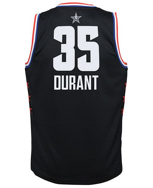 premium selection 04697 66511 Big Boys Kevin Durant Golden State Warriors All Star Swingman Jersey